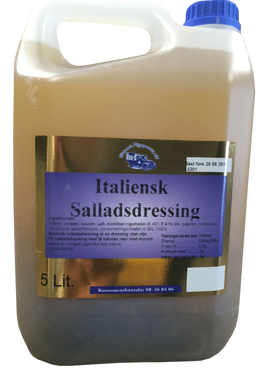 Italiensk salladsdressing